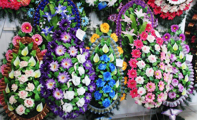 Вінки, квіти